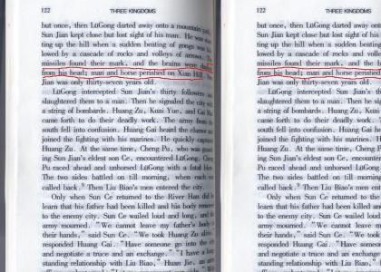 SUN JIAN DIES IN SAN GUO ZHI CHAPTER 7 VOLUME 1 ABRIDGED VERSION!!!!!!!:-o
