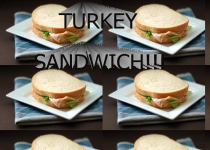 TURKEY SANDWICH!!!