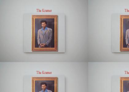 Kramer at the art museum