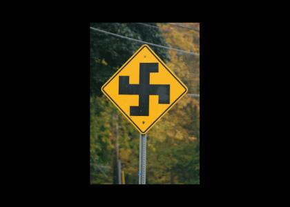 OMG!! Secret Nazi Road Sign