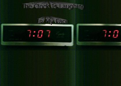 Clock Is Laughing