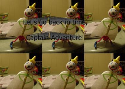 Captain Adventure!! The greatest super hero ever!