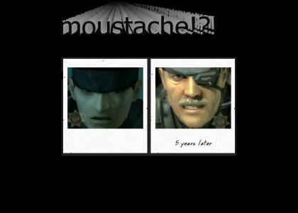 Solid Snake did meth and all he got was this silly facial hair (educational)