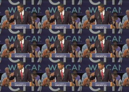 Get that dirt off ya shoulders, Obama