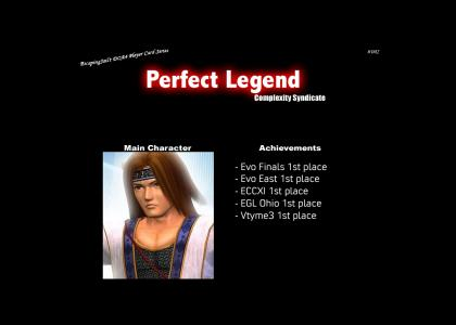 Perfect Legend Character Card