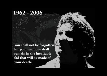 Steve Irwin's YTMND memorial
