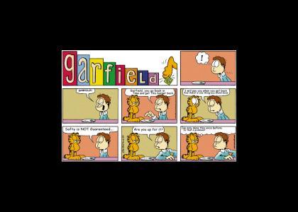 Garfield's Safty Isn't Guaranteed