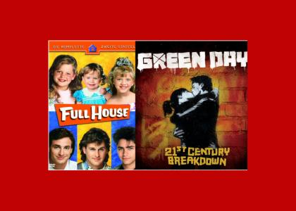 Green Day rips off Full House?