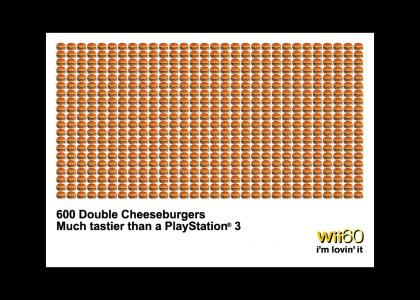 600 Hamburgers>Playstation 3