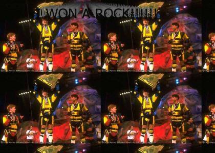 I Won A Rock.