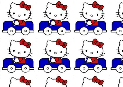 Hello kitty gets pwnt