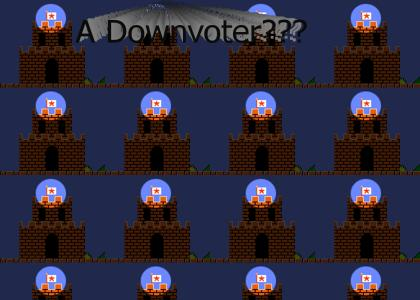 Mario...is A DOWNVOTER!