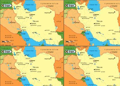 Iran is so far away...