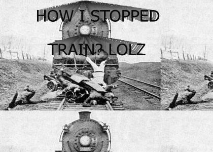 How I stopped train?