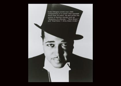 Legends of Jazz- #2: Duke Ellington (Not Funny)