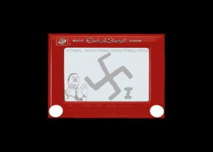 OMG! Secret Nazi Etch-A-Sketch!!