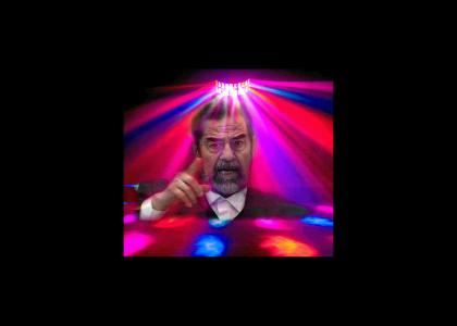 Saddam joins the Disco (1300% more Disco)