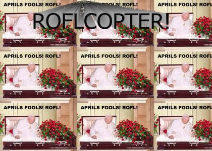 Pope April Fools