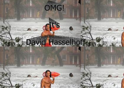 Hasselhoff Helps New Orleans