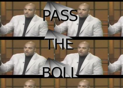 Barkley says PASS THE BOLL
