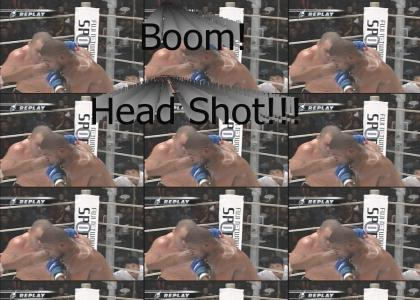 Boom Head Shot - Boxing