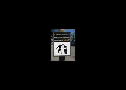 Estonian Sign, WTF?!
