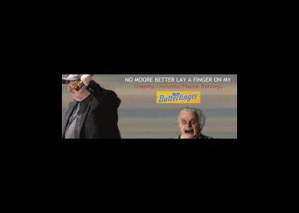 Bilbo Hunts Michael Moore