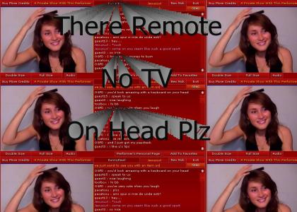 Remote on Head