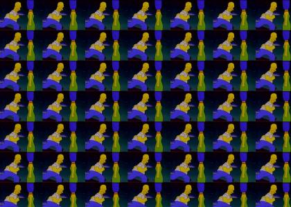 Homer's Runnin'