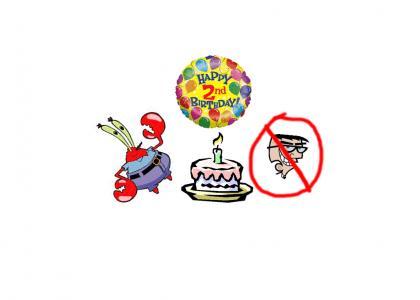 Mr. Krabs Birthday