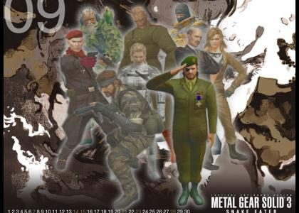 A Tribute To Metal Gear Solid 3