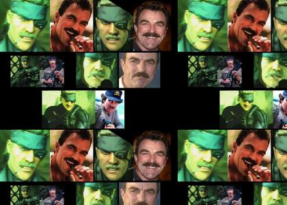 METAL GEAR SELLECK 4