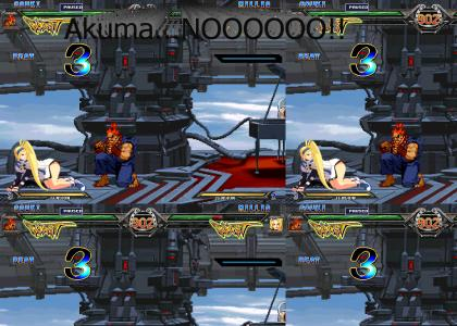 Akuma/Gouki the pervert (MUGEN)