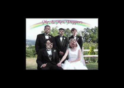 Brian Peppers Gets Married!
