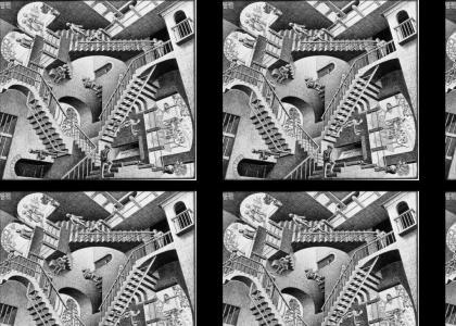 Lego M.C. Escher