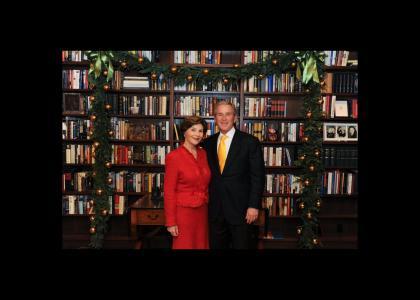 "ChristmasTMND: The Bush ""library"""
