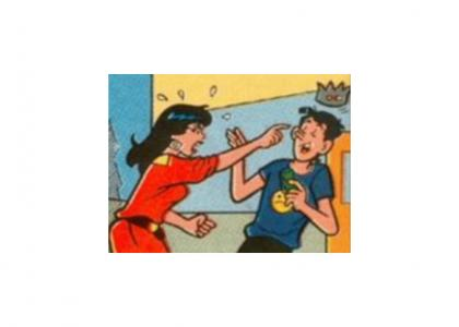 Veronica hates Jughead