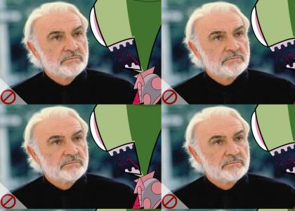 Zim disagrees with Connery