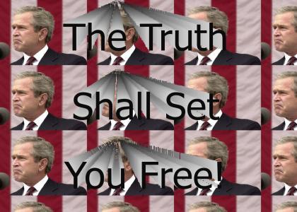 Bush FINALLY tells the truth!!!!
