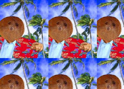 Your The Coconut Man Now Dog!