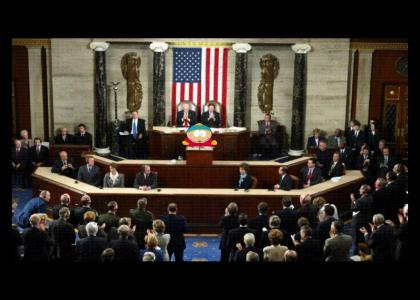 "Cartman Sings ""Heat of the Moment"" With Congress"