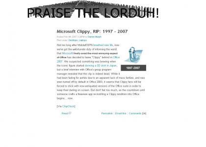 Clippy's DEAD!