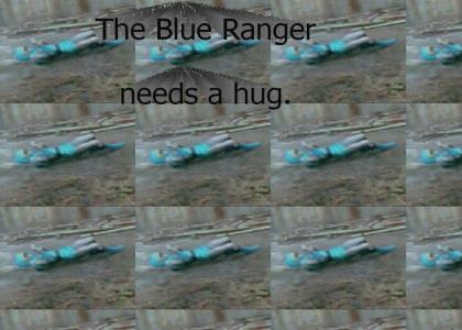 The Blue Power Ranger is Flippy!