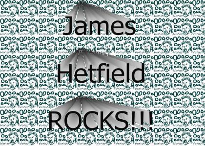 James Hetfield Rocks!