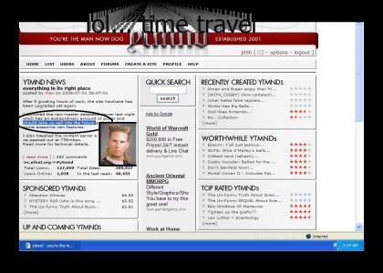 YTMND is pulling a reverse Safety Not Guaranteed