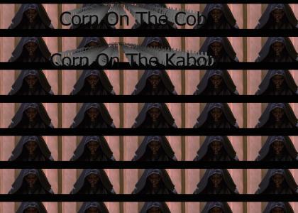 corn cob lightsabers