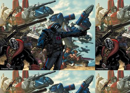 Transformers and GI Joe FUSION
