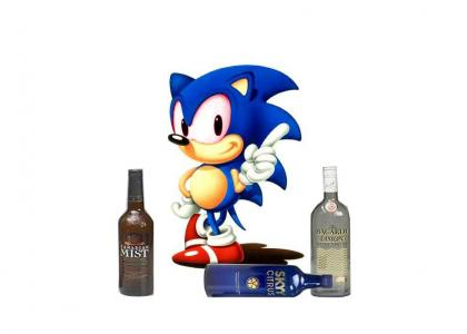 Drunk Sonic gives advice!