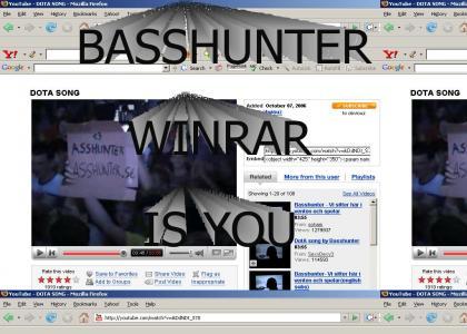 Basshunter is teh winrar