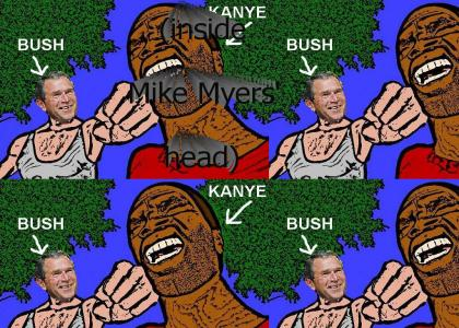 Bush doesn't care about Kanye West